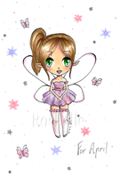 Fairy For April by TaitRochelle