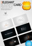 3 Elegant Business Card Designs freebie by UJz