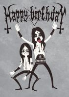 Black Metal Birthday by Nemons