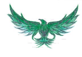green flame eagle by xxfreexxlancerxx