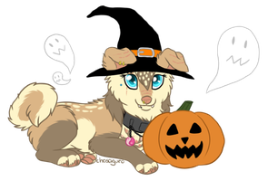 Happy Halloween from Denali by chosaguro