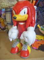 Classic Knuckles the Echidna by Aoi-Bonyari