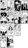 WIP Beatles tarot project by Crispy-Gypsy