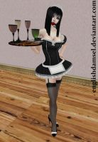 Gagged French Maid by EnglishDamsel