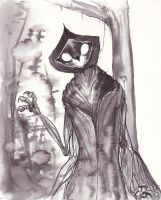The Flatwoods monster by Drunkfu