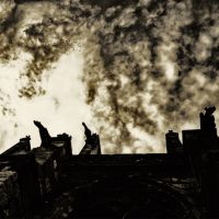 That long black cloud is comin' down by Pecuchet