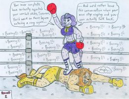 Boxing Brainy vs Sasaran by Jose-Ramiro