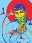 Rainbow Spock by bolkonsky