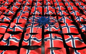 In sympathy with Norway by Ingostan
