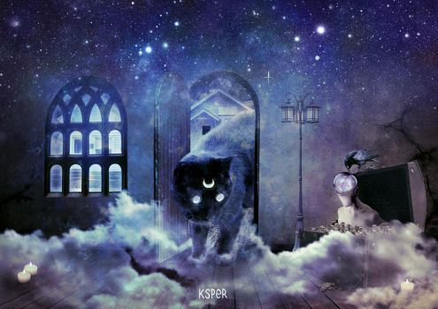 THE CAT, THE TREASURE AND THE CORPSE by KsPeR
