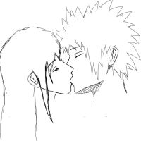 First kiss by Kushina-Uzumaki-II