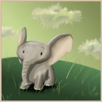 Elephant by feawen