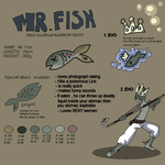 Mr. Fish' Refsheet by griffsnuff
