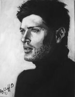 Jensen Ackles my painting by cliford417