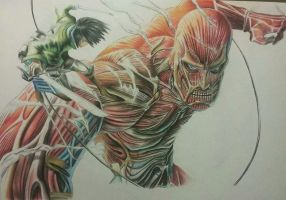 Attack On Titan by Steven626