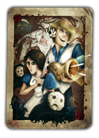 Pewdie - Alice: Madness Returns by ScribbleNetty