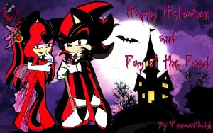 Halloween and Day of the Death 2014 by PrincessShadyk