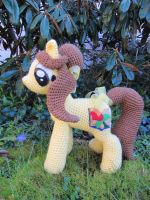 Belle the Pony (Inspired by Beauty and the Beast) by NerdyKnitterDesigns