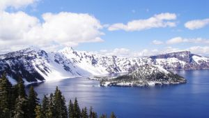 Crater Lake by Ym2d