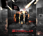 WWE The Shield Poster V2 by SoulRiderGFX