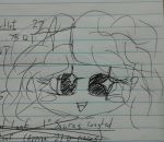 Still Doodling at Work by UbiquitousEyechosis