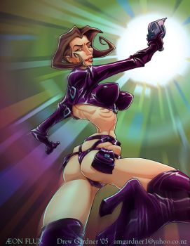 Aeon Flux by DrewGardner