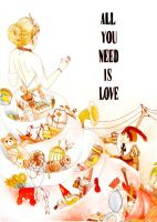 All You Need Is Love by Ryryna