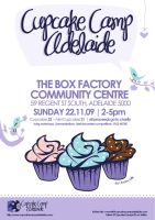 Adelaide Cupcake Camp Poster by StolenStars
