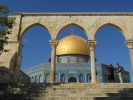The Dome of the Rock by mit19237
