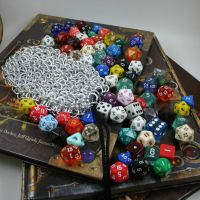 Chainmail Dice Bag - Medium II by Utopia-Armoury