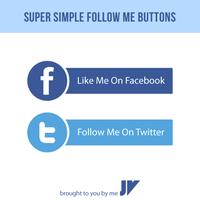 Follow Me Buttons by JaneVision