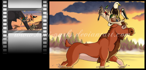 The NORTH AMERICAN Lion King - 06 by Kimi-Parks