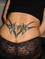 Sexy Lower Back Tattoos for Women by tattooscollections