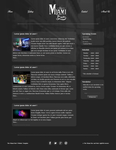 Webdesign - The Miami Bar by AziasCreations