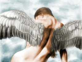 Angel in color by JakeGreen