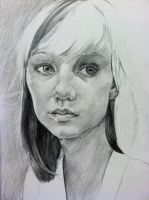 Girl With Bangs Life Drawing 2 by emueller