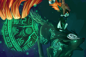 Midna [Hyrule Warriors] by Pidoodle