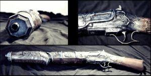 Hansel and Gretel: Witch Hunters - Hansel's Rifle by GlasshouseMurderer