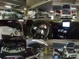 Peugeot 206 tuning by waste84