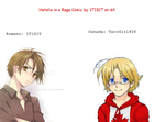 TacoGirl456 and I on Hetalia by 1T1S1T