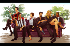 Teen Wolf FanArt: Mafia AU part 2 by NinaKask