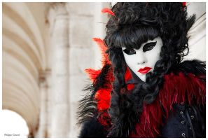 Graceful Lady in Venice by PhilippeGaravel