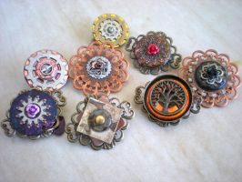 Brooches and pins by rowan300