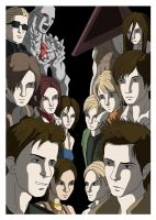 Resident Evil vs Silent Hill by Fandias