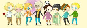 Axis Powers Hetalia by HipsterStache