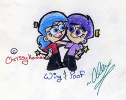 FOP: Wing and Poof by WickedGhoul