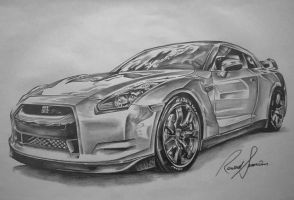 Nissan Skyline GTR by ink-line