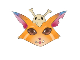 Gnar's face by xSilverRose