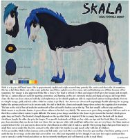 Skala Character Sheet 2009 by ReeseGriffith