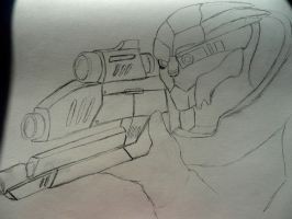 In His Sights wip by RogueofAsgard